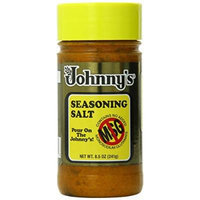Johnny's Seasoning Salt, No Msg, 8.5 Ounce (Pack of 6)
