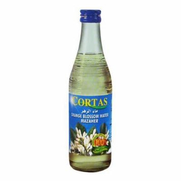 Cortas Orange Blossom Water, 10-Ounce Bottles (Pack of 4)