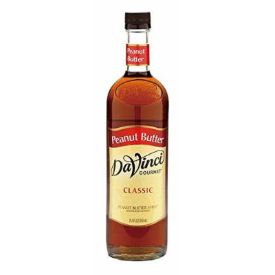 DaVinci Gourmet Classic Flavored Syrups Peanut Butter 750 mL