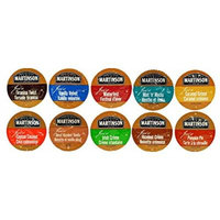 10 Cup Martinson Joe's® Flavored Coffee Sampler! 10 Unique Flavors. Tiramisu Twist, Vanilla Velvet
