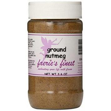 Faeries Finest Ground Nutmeg, 3.60 Ounce