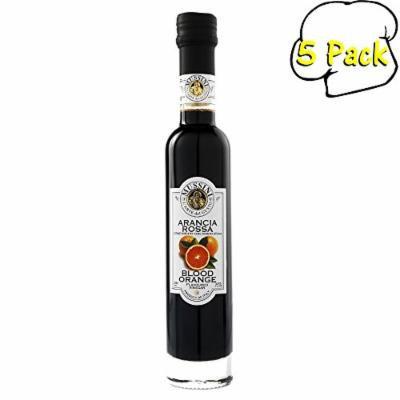 Blood Orange Wine Vinegar, 8.5 Ounces, Pack of 5