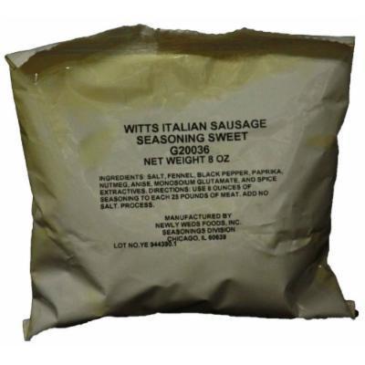 Witts Sweet Italian Sausage Seasoning