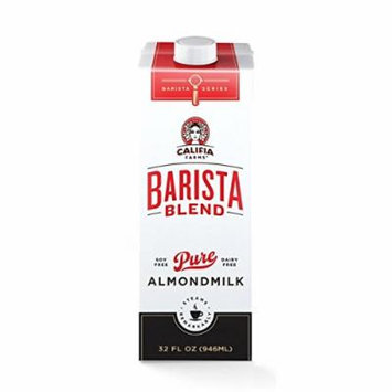 Califia Barista Blend Pure Almondmilk 32 Oz Cartons Pack of 6
