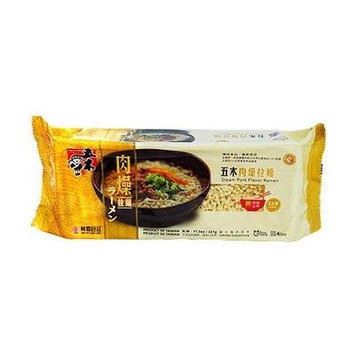 Wu-mu Steam Pork Flavor Ramen 11.3OZ(pack of 2)