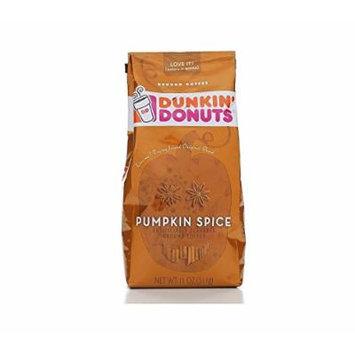 Dunkin Donuts Ground Coffee Pumpkin Spice 11 Ounces