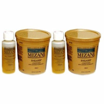 Mizani Rhelaxer with Sensitive Scalp Activator (Pack of 2) w/Lip Gloss!!