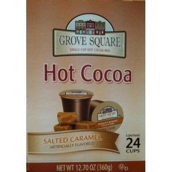 Grove Square Salted Caramel Hot Cocoa 96 Count