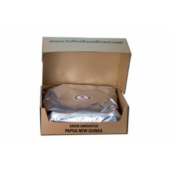 Green Unroasted, Papua New Guinea, 25-Pound