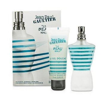 Jean Paul Gaultier Le Beau Male Coffret: EDT Spray 75ml/2.5oz + Shower Gel 75ml/2.5oz 2pcs