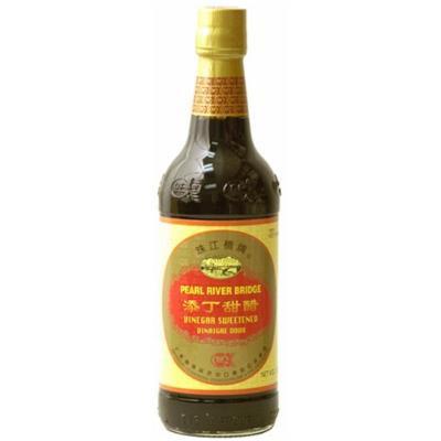 Pearl River Bridge Sweetened Vinegar, 16.9-Ounce Bottle (Pack of 2)