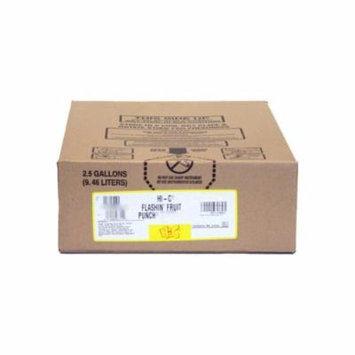 HI-C Flashin Fruit Punch Syrup 2.5 Gallon Bag in Box BIB Sodastream