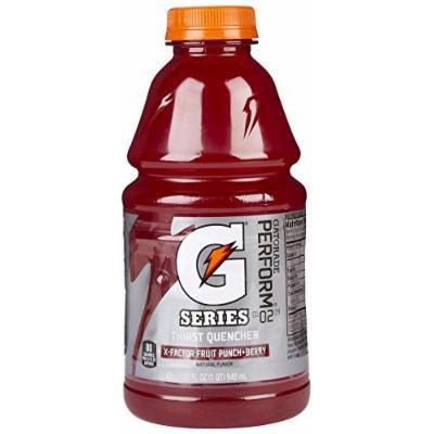 Gatorade X-Factor Fruit Punch Berry - 32 oz - 12 pk