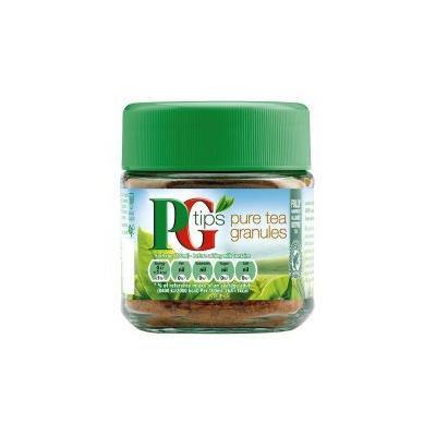 Pg Tips Pure Tea Granules. Instant Tea 40g / 80 Cups
