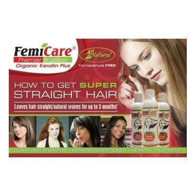 Femicare Brazilian Organic Keratin Straight Hair Treatment