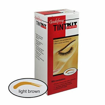 Godefroy Eyebrow Tint Kit Light Brown 1.5 Oz (44 Ml)