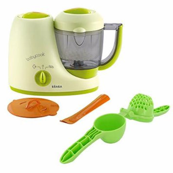 Beaba Babycook Classic Baby Food Maker with SMASH Baby Food Press, Sorbet