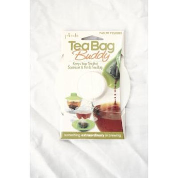 Epoca Silicone Tea Bag Buddy and Cup Cover Lid, 6-Pack, White