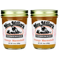 Mrs Millers Orange Marmalade (Amish Made) ~ 2 / 8 Oz. Jars