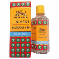 Tiger Balm Liniment Liquid Herbal Relief from Muscle and Joint Pain 28 ml (1 Fluid Oz)