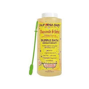 California Baby Bubble Bath Aromatherapy, Chamomile & Herbs 13 Oz