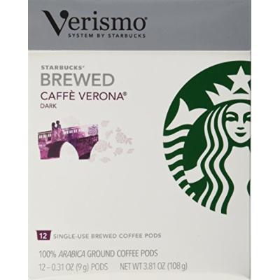 Starbucks® VerismoTM Caffe Verona® Brewed Coffee 72 Pods