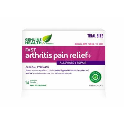 fast arthritis relief+ With NEM Natural Eggshell Membrane (14 Capsules) Brand: Genuine Health