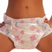 ABDL Pink Adult Diapers (Medium)