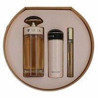Prada Candy L'eau by Prada, 3 Piece Gift Set for Women with 2.7 oz round