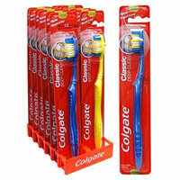 Colgate Classic Deep Clean Toothbrush, Medium (Display of 12)