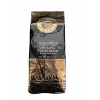 Royal Kona - Sam Choy's Volcano Roast - 10% Kona Coffee Blend - All Purpose Grind -3 Bags - 8 Oz. Bag each #Z3