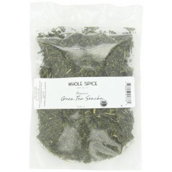 Whole Spice Green Tea Sencha, Organic, 4 Ounce