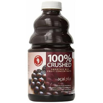 Dr. Smoothie 100% Crushed Fruit Smoothie, Acai Plus, 46-Ounce Bottles (Pack of 2)