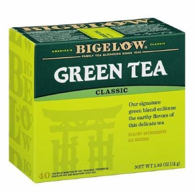 Bigelow Green Tea, Value Pack 40 bags pack of 2
