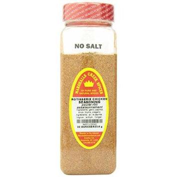 Marshalls Creek Spices Seasoning, Rotisserie Chicken, XL Size, 22 Ounce