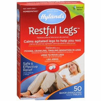Hylands Homeopathic Restful Legs - 50 Tablets Pack of 4