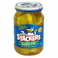 Vlasic Stackers Kosher Dill Pickles 16 oz