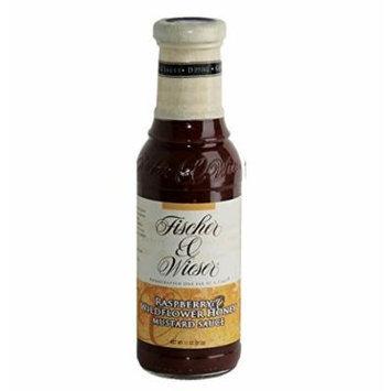 Fischer & Wieser Specialty Foods Raspberry Wildflower Honey Mustard Sauce, 11 Ounce