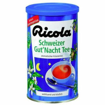 Ricola Schweizer Gut Nacht Tea - Pack of 3 X 200g