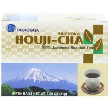 Takaokaya Tea, Hoji Cha Tea, 16-Count Tea Bags (Pack of 12)