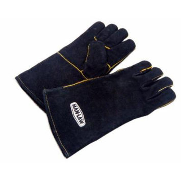 Man-law BBQ Gloves, Leather for the Man Who Loves to Cook Outdoors