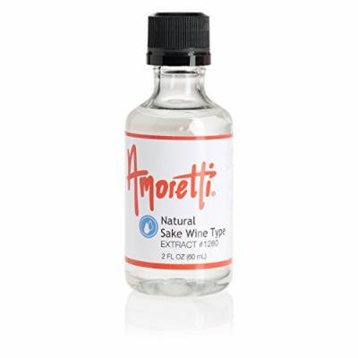 Amoretti Natural Sake Wine Type Extract, 2 Ounce
