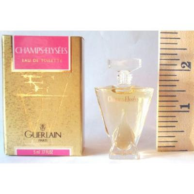 CHAMPS ELYSEES Eau de Parfum by Guerlain Mini (.17 fl. oz./5ml) UNBOXED