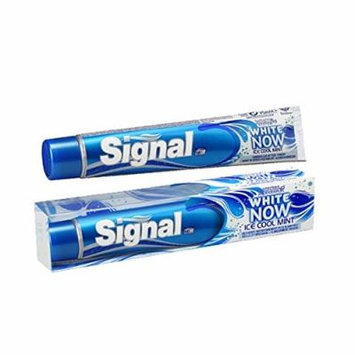Signal White Now Ice Cool Mint Toothpaste 75 ml (3-Pack)