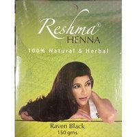 Reshma Henna, 100% Natural and Herbal (Raven Black) 150 Gram