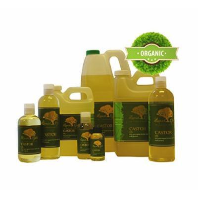 8 Fl.oz Premium Castor Oil Hair Skin Health Care Moisturizer