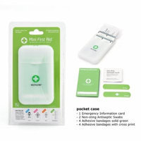 I'M OK! Green Cross Mini First Aid pocket kit