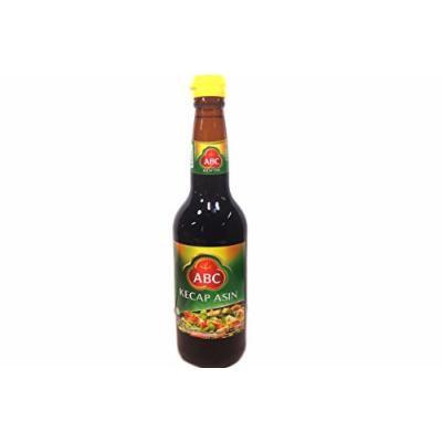 ABC Salty Soy Sauce (Kecap Asin) - 21fl Oz (Pack of 1)
