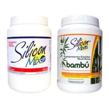 Combo , Silicon Mix 60oz + Silicon Mix Bambú 60oz - Hair Treatment