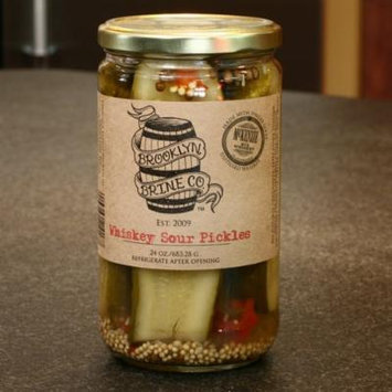 Whiskey Sour Pickles by Brooklyn Brine (24 ounce)